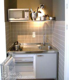 modern kitchenette