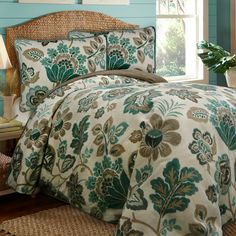 Have to have it. Scent-Sation Ikat Comforter Set $129.99