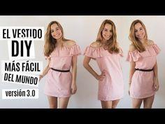El vestido DIY más fácil del mundo   Versión 3.0 - YouTube