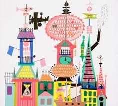 Stig Lindberg children's book illustration