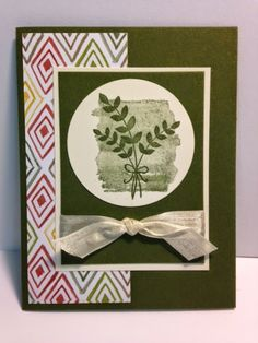 For All Things Fall, Fall Card, Stampin' Up!, Rubber Stamping, Handmade Cards, Stamp a Stack