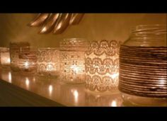 nice votives...even I could do this!