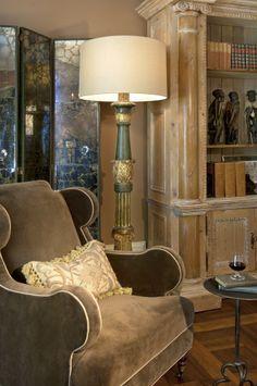 Robin Rains Interior Design Reading Space