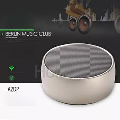 BS-01 Portable Hifi Stereo Wireless Bluetooth Subwoofer Loudspeakers Boombox - Silver