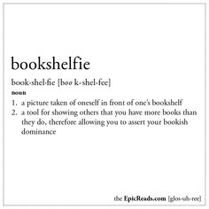 Show us your best #bookselfie!