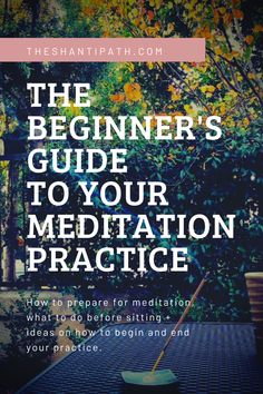 How to prepare for meditation, what to do before sitting for meditation, and ideas on how to begin your meditation practice and end your meditation practice. What Is Meditation, What Is Yoga, Daily Meditation, Meditation Practices, Spiritual Practices, Soul Healing, Meditation Techniques, Spiritual Awareness, You Know Where