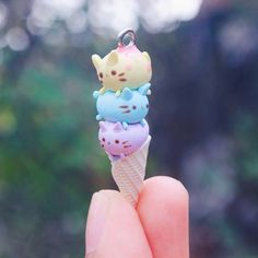 Image result for magnet clay stack charms