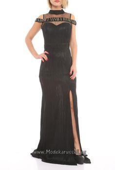 2017 Abendkleid Trend Calla Schwarz