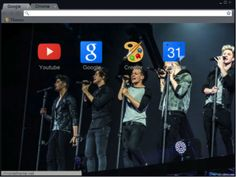 One Direction Live for Chrome
