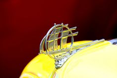 Plymouth Hood Ornament - The Chrysler Corporation introduced the Plymouth automobile in 1928. From the 1930s to the early 50s, Plymouth hood ornaments were typically characterized by stylized sailing ships or schooners.