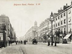 View Looking Down Belgrave Road, Pimlico, London Photographic Print at AllPosters.com