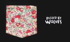 "RAISED BY WOLVES ""POCKET TEES"" S/S 12"