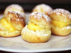 When I set out to make a gluten-free pâte à choux (that's the dough for cream puffs, éclairs, and other desserts like profiteroles and French crullers), I knew what I wanted: a dough that puffed up in the oven and was light. Who wants a heavy cream puff? Since wheat-based pâte à choux dough relies on gluten-rich bread flour, with 12-13% protein, I wondered how gluten-free pâte à choux would work. Pretty well, it turns out.