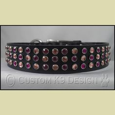 "The ""Princess"" Deco Dog Collar Leather Dog Collars, Belt, Princess, Dogs, Accessories, Design, Belts, Pet Dogs"