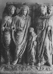 Wk 9 Hadrian and the Antonine emperors, from the Great Antonine Altar, Ephesus, Turkey, marble, 169