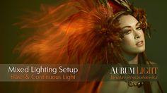 Mixed Lighting - Continuous & Flash - AurumLight