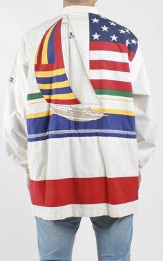 000ec059c Vintage Polo 1992 Sailing Jacket Sz M – F As In Frank Vintage