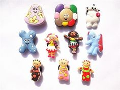 Set of 10 In the Night Garden Shoe Charms, Shoe Snap on Decorations, Charms, Buttons, Widgets, for Clogs, Crocs, and Bracelets by Shoe Charms. $13.99