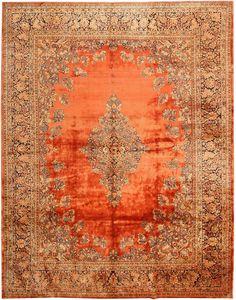 Antique Sarouk Persian Rug