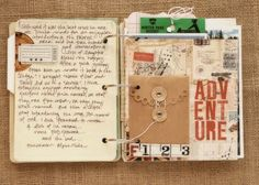 Great little mini travel album. Make ahead of time and add to it while on the trip.