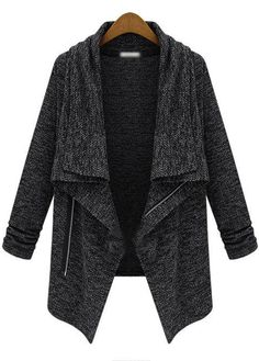 grey jacket.