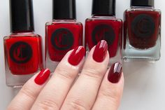 From left to right: Doyers – The Devil Wears Cirque – Rouge Rockefeller – Empire State Of Mind
