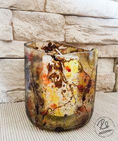 """""""Deko-Dinger"""" - Galerie Regina - wohnliche und dekorative Kunst - einzigartiger Unikat Schmuck - Regina Steiner Vase, Canning, Home Decor, Old Wine Bottles, Wall Clocks, Candle Holders, Old Wood, Do Your Thing, Deko"""