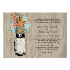 ReviewRustic Wood Mason Jar and Wildflowers Wedding AnnouncementsYes I can say you are on right site we just collected best shopping store that have