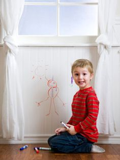 Getting Out Crayon Stains - Remove Crayon Stain - Good Housekeeping