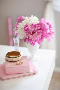 Pretty Pink Vignette