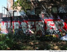Police paint over mural expressing anti-police sentiment, against wishes of owner; police commissioner now claims that they did it because the owner the building wanted the mural gone. Thank god we have the NYPD to protect us from the first amendment.
