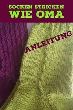 Socks knit like grandma with very simple instructions! Instructions for knitting socks! Knitting Socks, Knitted Hats, Knit Socks, Art Minecraft, Hedgehog Fibres, Christmas Jokes, Crafts For Teens, Teen Crafts, Tricot