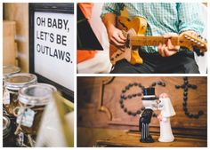 Vintage Rustic Western Wedding Decor