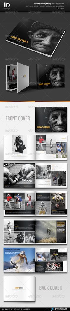 Sport Photography Album Photo - Photo Albums Print Templates