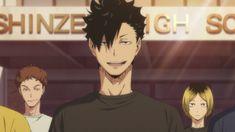 Kuroo Haikyuu, Kuroo Tetsurou, Haikyuu Manga, Haikyuu Characters, Anime Characters, Anime Love, Anime Guys, Watch Haikyuu, Haikyuu Wallpaper
