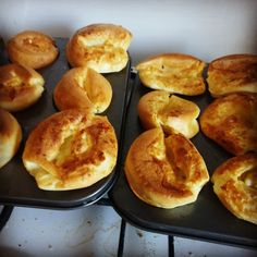 Yorkshire Puddings on the way