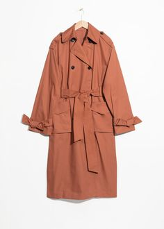 6b94bf8d29 Trench Coat Outfit, Trench Coats, Brown Outfit, Piece Of Clothing, Work Wear