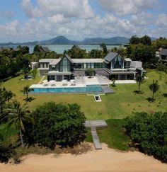 $18,500,000 (million) Beach Villa in Phuket, Tailand