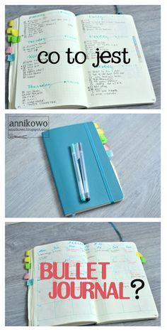co to jest bullet journal jak zacząć Bujo, Ulzzang, Bullet Journal, Scrapbooking, Organization, Lifestyle, Diy, Beauty, Getting Organized