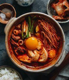 Sundubu Jigae (Korean Tofu Stew)