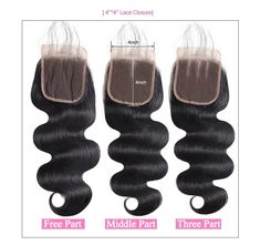 Closures Buy Cheap Bigsophy Mongolian Closure 4x4 Straight Wave Human Hair Lace Closure With Baby Hair Free Middle Three Part Remy Hair Closure