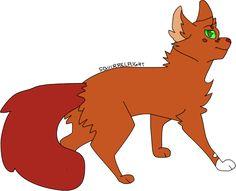 Squirrelflight by ukariwarriorcats on tumblr