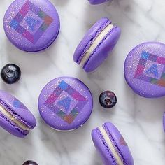 Logo macarons to make it more personal and sweet.  #melbourneeats #sydneyeats