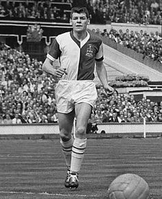 Dave Whelan of Blackburn Rovers in action in the 1960 FA Cup Final against Wolves. Blackburn Rovers, Fa Cup Final, Finals, Photo Galleries, Sporty, Wolves, Action, Style, Swag