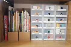 今すぐマネしたい!レゴ・ミニカーなどの細々したおもちゃのスッキリ収納術♩ | folk Shelving, Bookcase, The Unit, Home Decor, Shelves, Shelving Racks, Bookshelves, Interior Design, Home Interior Design