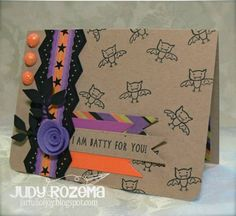 WT395 I'm Batty by StampingQueenJAR - Cards and Paper Crafts at Splitcoaststampers