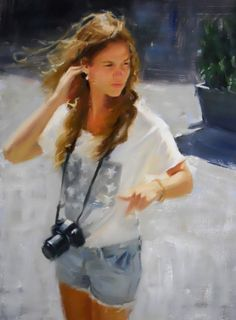 """Tourist"" by ALDO BALDING, contemporary British painter aldo balding - Recherche Google"