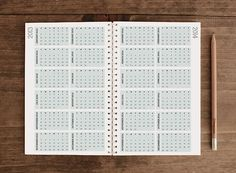 2013 Weekly Planner  The Creative Adult is the by ninjandninj, $20.00