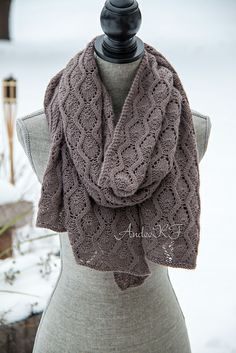 Ravelry: Project Gallery for Tidal Wave pattern by Andee Fagan