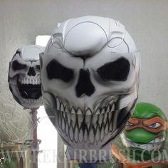 Rekairbrush Custom Airbrushed Motorcycle Helmet 437
